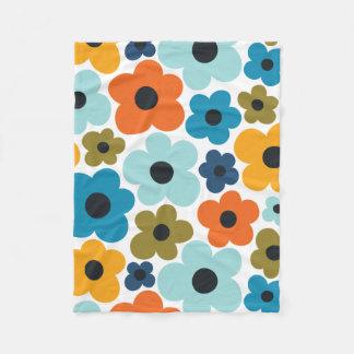 Cobertor De Velo Teste padrão de flower power