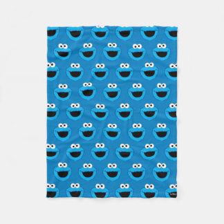 Cobertor De Velo Teste padrão de sorriso do monstro do biscoito