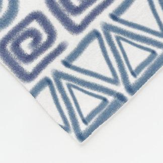 Cobertor De Velo teste padrão desenhado mão africano étnico