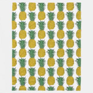 Cobertor De Velo Teste padrão do abacaxi