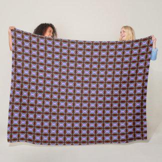 Cobertor De Velo Teste padrão do cetim do diamante do vintage de