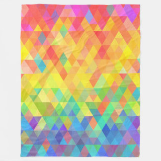 Cobertor De Velo Teste padrão do diamante de prisma do arco-íris