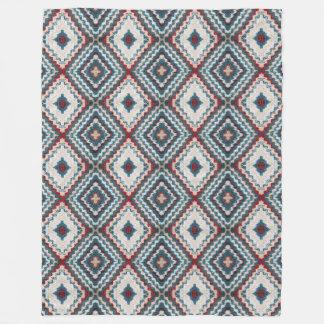 Cobertor De Velo Teste padrão do diamante do Crochet