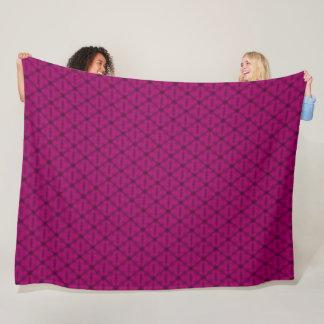 Cobertor De Velo Teste padrão do triângulo da limonada da morango