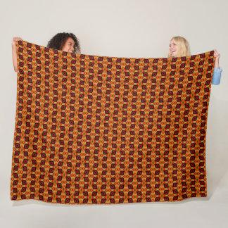 Cobertor De Velo Teste padrão egípcio da seda do olho do tigre