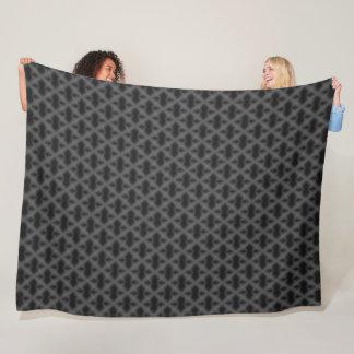 Cobertor De Velo Teste padrão egípcio escuro do diamante do dragão