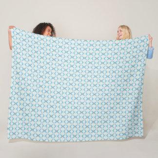 Cobertor De Velo Teste padrão estrangeiro geométrico da matriz do