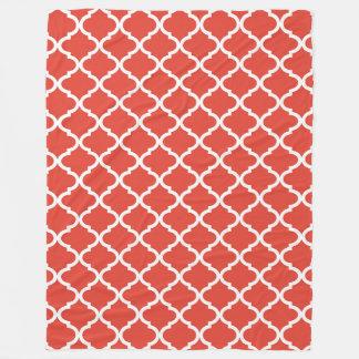 Cobertor De Velo Teste padrão fino de Moraccan Quatrefoil do