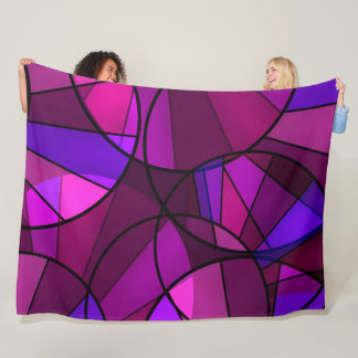Cobertor De Velo Teste padrão geométrico abstrato