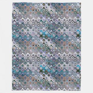 Cobertor De Velo Teste padrão geométrico dos círculos