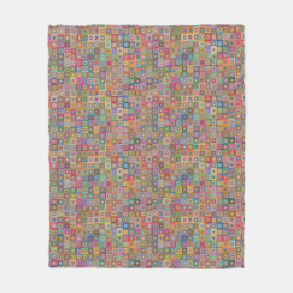Cobertor De Velo Teste padrão geométrico retro do azulejo