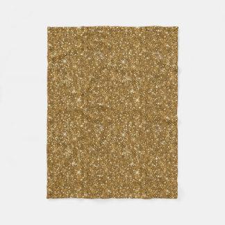 Cobertor De Velo Teste padrão ID144 do brilho do ouro
