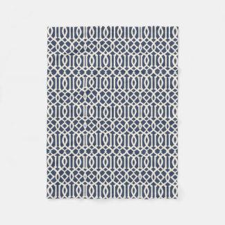 Cobertor De Velo Teste padrão imperial da treliça
