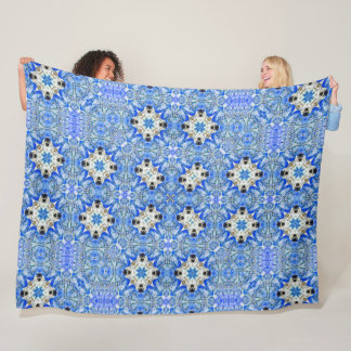 Cobertor De Velo Teste padrão maia da edredão do guardião do