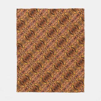 Cobertor De Velo Teste padrão moderno da silhueta das folhas de