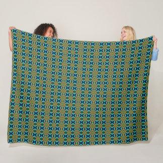 Cobertor De Velo Teste padrão moderno do cetim de Danny Houndstooth