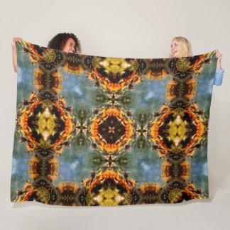 Cobertor De Velo Teste padrão ocidental velho da mandala da