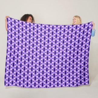 Cobertor De Velo Teste padrão persa roxo da cruz do dragão