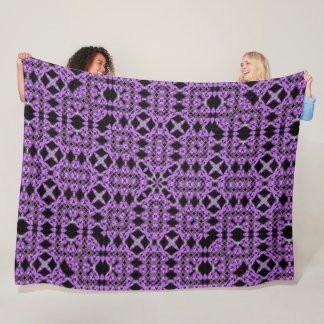 Cobertor De Velo Teste padrão roxo da edredão do renascimento dos