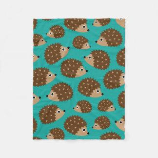 Cobertor De Velo Teste padrão sem emenda dos ouriços (ver.1)