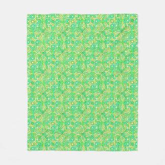 Cobertor De Velo Teste padrão tecido do nó trança irlandesa celta