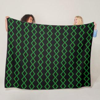 Cobertor De Velo Teste padrão tribal do diamante do cetim do cobra