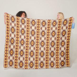 Cobertor De Velo Teste padrão tribal do navajo do sudoeste