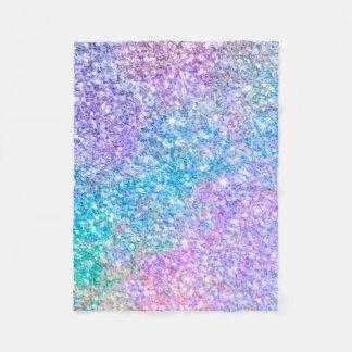 Cobertor De Velo Textura moderna colorida do brilho