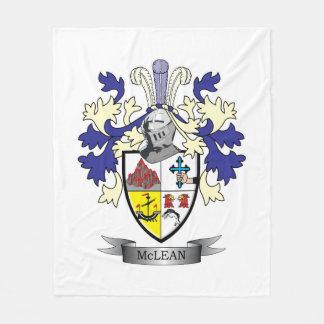 Cobertor De Velo TÍTULO da brasão da crista da família    de McLean