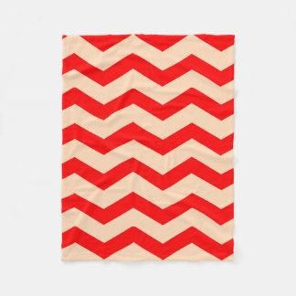 """Cobertor De Velo Tose 30"""" geral"""" - os ziguezagues x40 vermelhos em"""