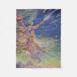 Cobertor De Velo Trave uma cobertura do lance da estrela de queda