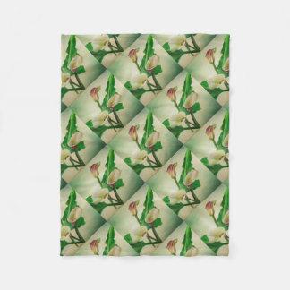 Cobertor De Velo Três lírios de Calla