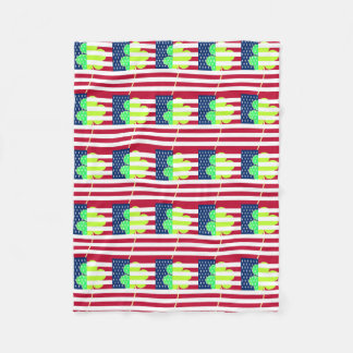 Cobertor De Velo Trevo irlandês St Patrick do trevo da bandeira
