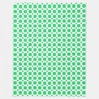 Cobertor De Velo Trevo verde modelado