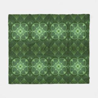 Cobertor De Velo Trevos abstratos
