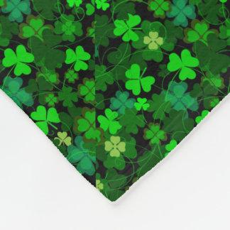 Cobertor De Velo Trevos irlandeses