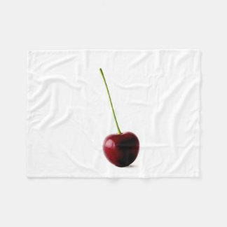 Cobertor De Velo Uma cobertura do velo da cereja doce