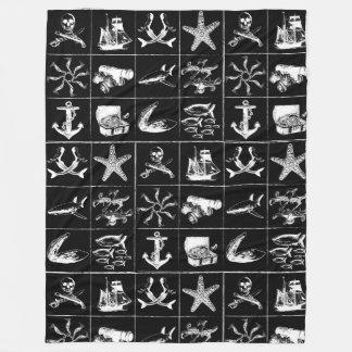 Cobertor De Velo Uma vida Blanket_4 dos piratas