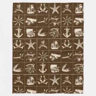 Cobertor De Velo Uma vida Blanket_7 dos piratas