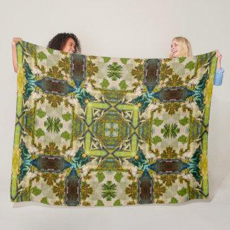 Cobertor De Velo Unicórnio & donzela clássicos do renascimento do