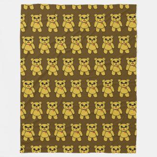 Cobertor De Velo Urso Brown TP do Doodle