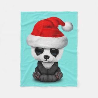 Cobertor De Velo Urso de panda do bebê que veste um chapéu do papai