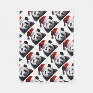 Cobertor De Velo Urso de panda do Natal