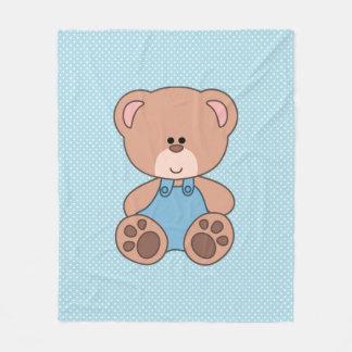 Cobertor De Velo Urso feito sob encomenda de Little Boy