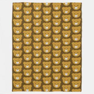 Cobertor De Velo Urso satisfeito Brown TP