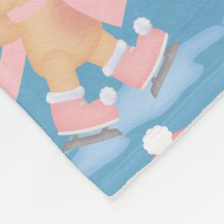 Cobertor De Velo Velo sazonal do inverno do porco do patinagem no