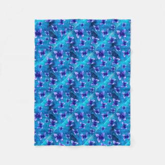 Cobertor De Velo Verão azul da borboleta