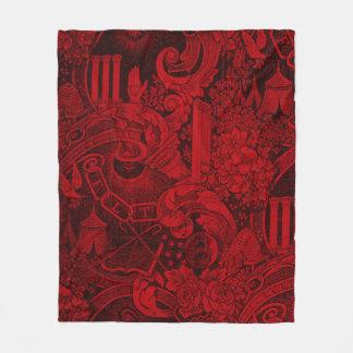 Cobertor De Velo Versão tecida 2 da tapeçaria dos companheiros