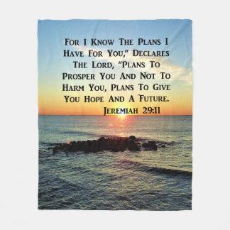 COBERTOR DE VELO VERSO CELESTIAL DO 20:11 DE JEREMIAH DO NASCER DO