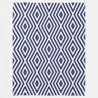 Cobertor De Velo Vigas azuis do diamante dos humores de Phthalo